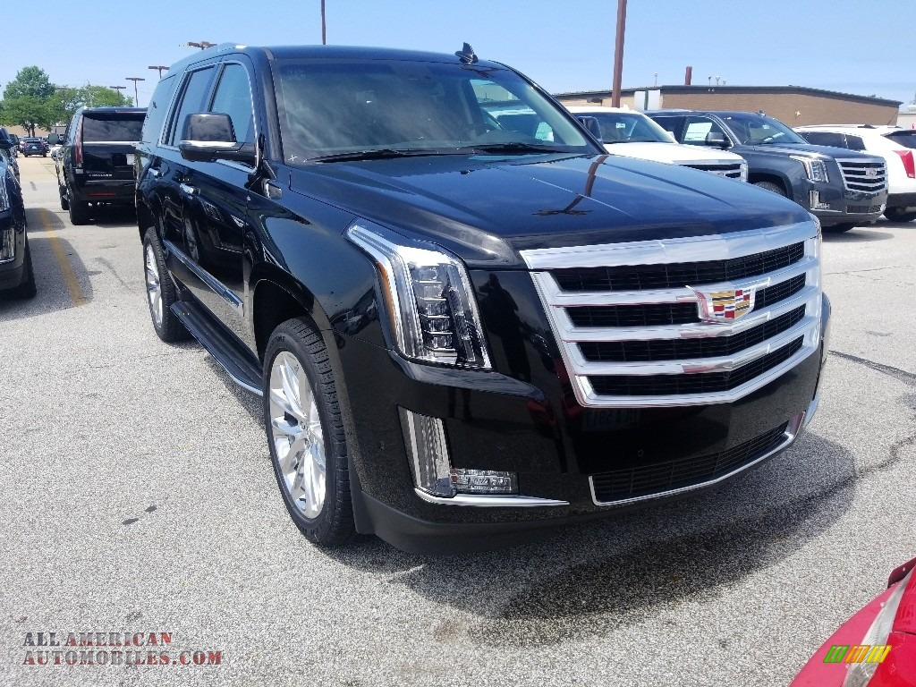 Black Raven / Kona Brown/Jet Black Accents Cadillac Escalade Luxury 4WD