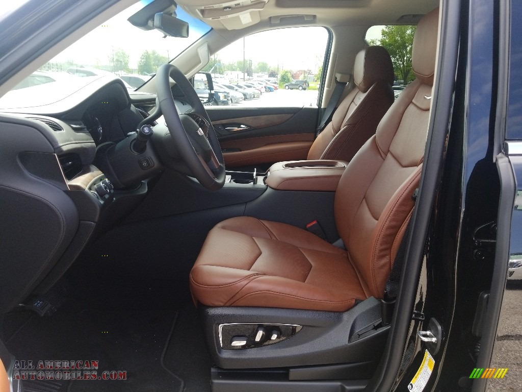 2019 Escalade Luxury 4WD - Black Raven / Kona Brown/Jet Black Accents photo #3