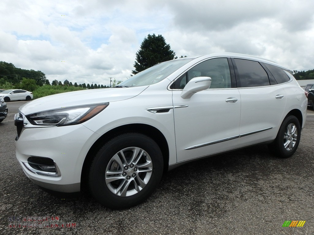 2019 Enclave Essence AWD - White Frost Tricoat / Shale/Ebony Accents photo #1