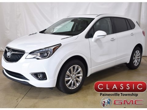 Summit White 2019 Buick Envision Essence AWD