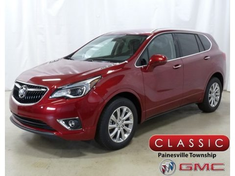 Chili Red Metallic 2019 Buick Envision Essence AWD