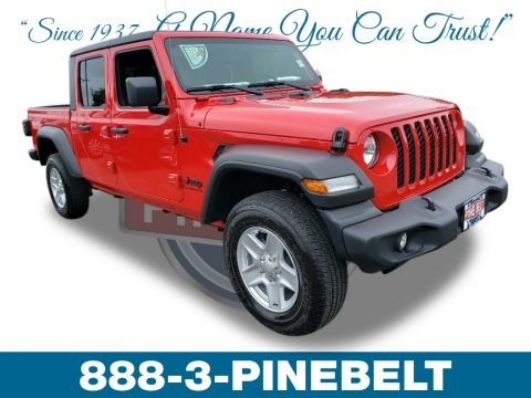 Firecracker Red 2020 Jeep Gladiator Sport 4x4