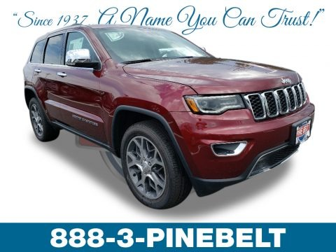 Velvet Red Pearl 2019 Jeep Grand Cherokee Limited 4x4