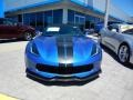 Chevrolet Corvette Grand Sport Convertible Elkhart Lake Blue Metallic photo #2