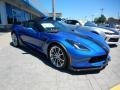 Chevrolet Corvette Grand Sport Convertible Elkhart Lake Blue Metallic photo #3
