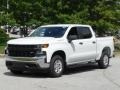 Chevrolet Silverado 1500 WT Double Cab Summit White photo #5