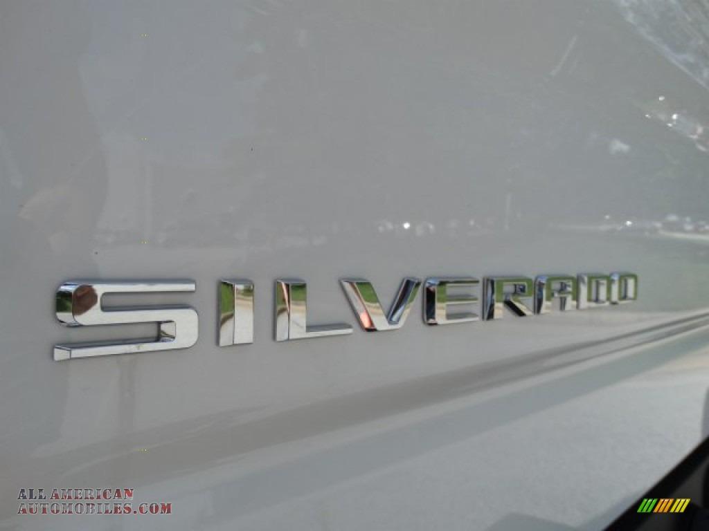 2019 Silverado 1500 WT Double Cab - Summit White / Jet Black photo #9