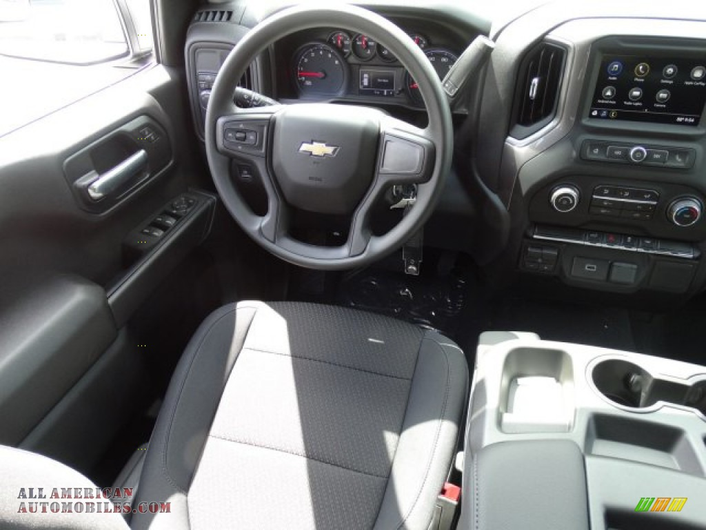 2019 Silverado 1500 WT Double Cab - Summit White / Jet Black photo #22