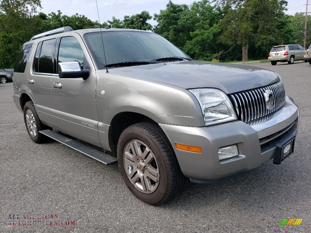 Vapor Silver Metallic / Charcoal Black Mercury Mountaineer Premier AWD