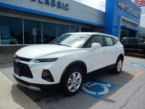 Summit White 2019 Chevrolet Blazer L