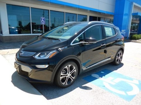 Mosaic Black Metallic 2019 Chevrolet Bolt EV Premier