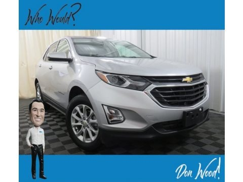 Silver Ice Metallic 2018 Chevrolet Equinox LT AWD