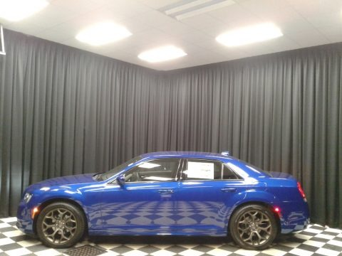 Ocean Blue Metallic 2019 Chrysler 300 S
