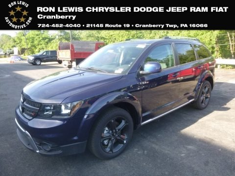 Contusion Blue Pearl 2019 Dodge Journey Crossroad AWD