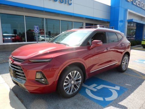 Cajun Red Tintcoat 2019 Chevrolet Blazer Premier