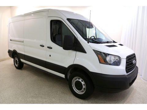 Oxford White 2019 Ford Transit Van 250 MR Long