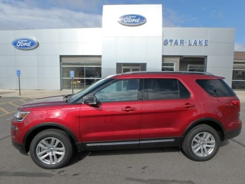 Ruby Red 2019 Ford Explorer XLT 4WD