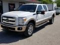 Ford F350 Super Duty Lariat Crew Cab 4x4 Oxford White photo #1