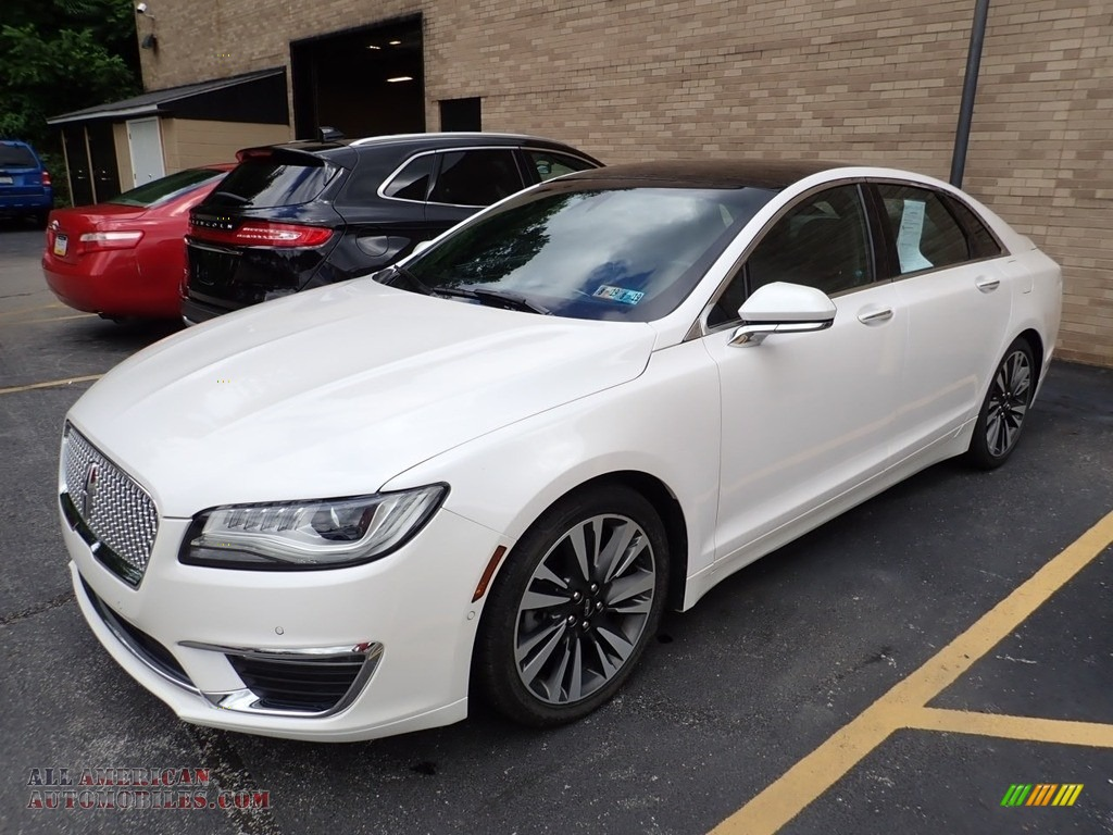 2017 MKZ Reserve - White Platinum / Ebony photo #1
