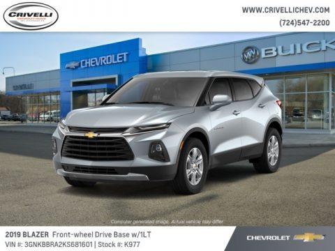 Silver Ice Metallic 2019 Chevrolet Blazer 2.5L Cloth