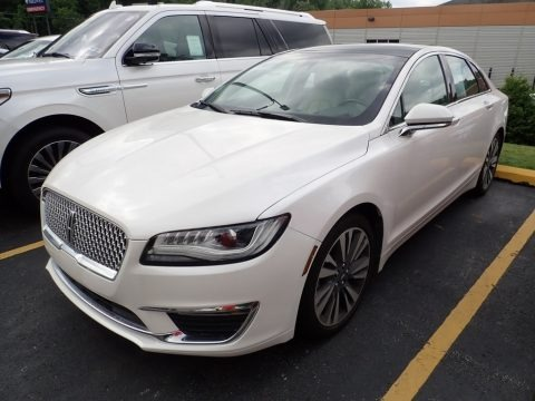 White Platinum 2017 Lincoln MKZ Select