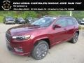 Jeep Cherokee Limited 4x4 Velvet Red Pearl photo #1