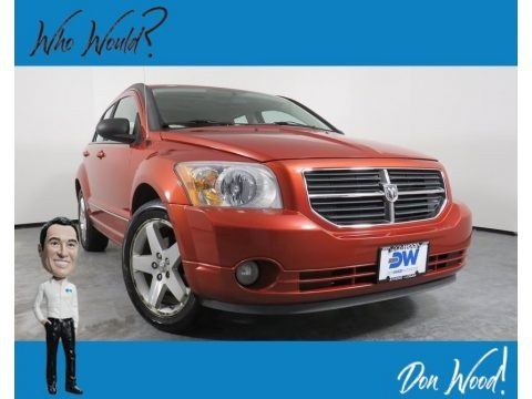 Sunburst Orange Pearl 2008 Dodge Caliber R/T AWD