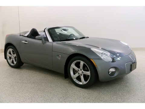 Sly Gray 2006 Pontiac Solstice Roadster