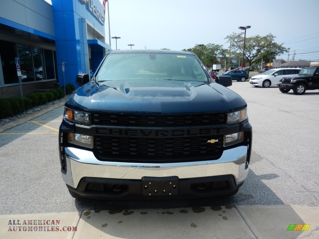 2019 Silverado 1500 WT Regular Cab 4WD - Northsky Blue Metallic / Jet Black photo #2
