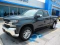 Chevrolet Silverado 1500 LT Double Cab 4WD Shadow Gray Metallic photo #1
