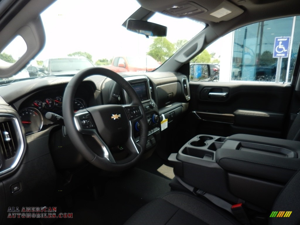 2019 Silverado 1500 LT Double Cab 4WD - Northsky Blue Metallic / Dark Ash/Jet Black photo #6