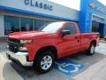 Chevrolet Silverado 1500 WT Regular Cab Red Hot photo #1