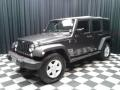 Jeep Wrangler Unlimited Sport 4x4 Granite Crystal Metallic photo #2