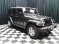 Jeep Wrangler Unlimited Sport 4x4 Granite Crystal Metallic photo #4
