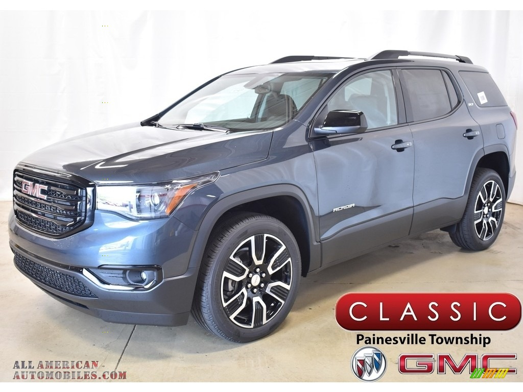 2019 Acadia SLT AWD - Dark Sky Metallic / Jet Black photo #1