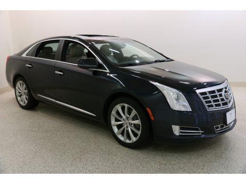 Sapphire Blue Metallic 2014 Cadillac XTS Luxury AWD