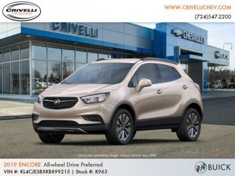 Coppertino Metallic 2019 Buick Encore Preferred AWD
