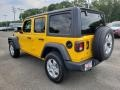 Jeep Wrangler Unlimited Sport 4x4 Hellayella photo #4