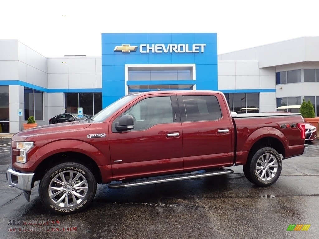 2017 F150 XLT SuperCrew 4x4 - Bronze Fire / Earth Gray photo #1