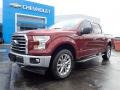 Ford F150 XLT SuperCrew 4x4 Bronze Fire photo #2