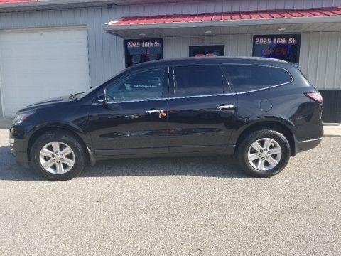 Black Granite Metallic 2014 Chevrolet Traverse LT AWD