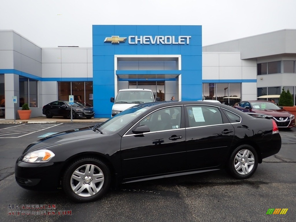 2011 Impala LT - Black / Ebony photo #1