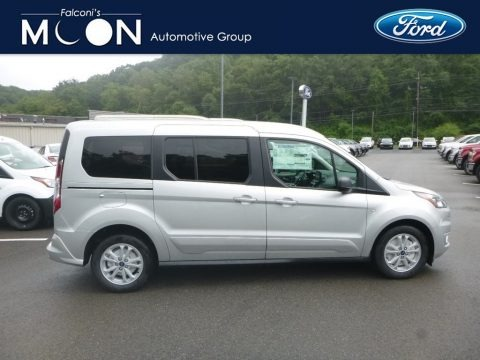 Silver Metallic 2020 Ford Transit Connect XLT Passenger Wagon