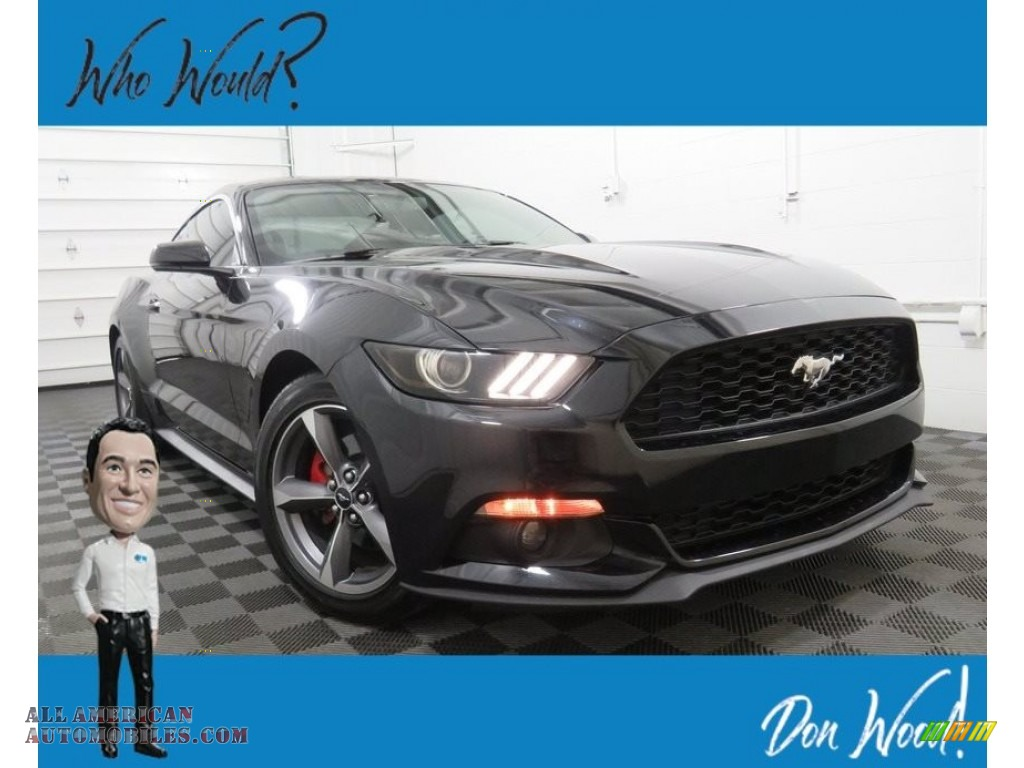 Shadow Black / Ebony Ford Mustang EcoBoost Premium Coupe
