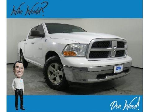 Stone White 2010 Dodge Ram 1500 SLT Crew Cab 4x4