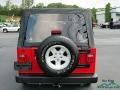 Jeep Wrangler Unlimited 4x4 Flame Red photo #4