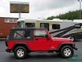 Jeep Wrangler Unlimited 4x4 Flame Red photo #6