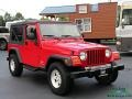 Jeep Wrangler Unlimited 4x4 Flame Red photo #7