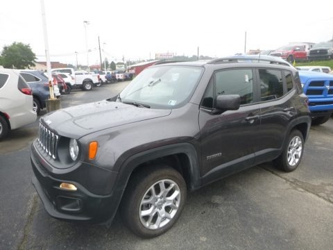 Granite Crystal Metallic 2018 Jeep Renegade Latitude 4x4