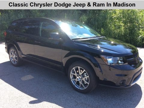 Pitch Black 2019 Dodge Journey GT AWD